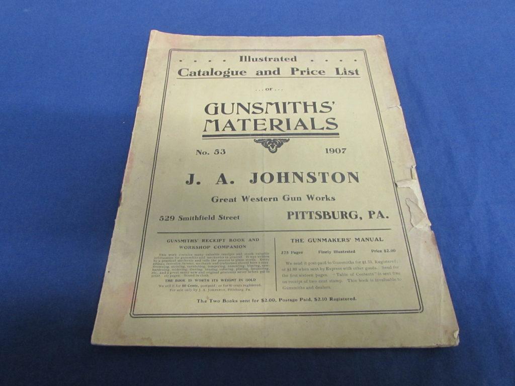 J. A. Johnston Catalog