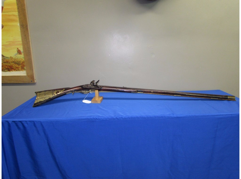Rare signed Frederick Stover Rifle