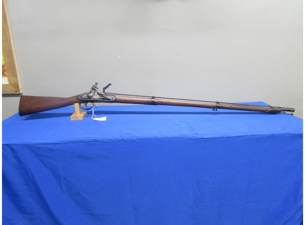 HARPERS FERRY MODEL 1816 MUSKET DATED 1824