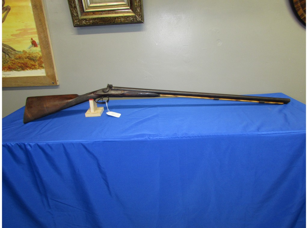 J.H. JOHNSTON MUZZLELOADING SHOTGUN