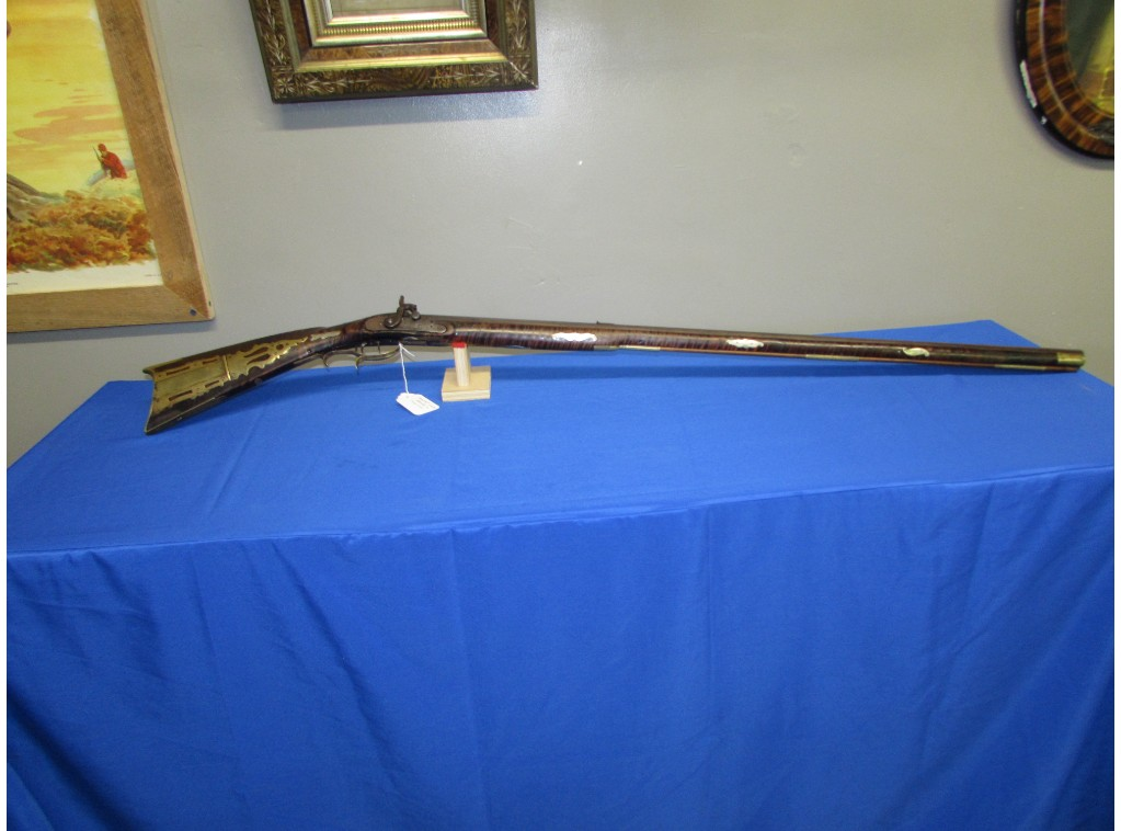 SOMERSET COUNTY RIFLE ATTRIBUTED TO JACOB MIER