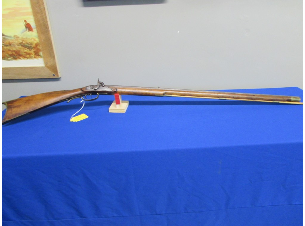 RIFLE SIGNED C.H. FOR CONRAD HORN