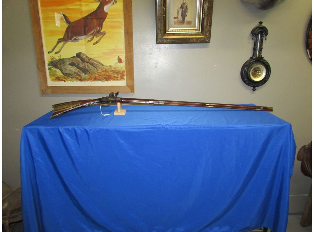 Exquisite Dauphin County, Pa Rifle Signed John Schell