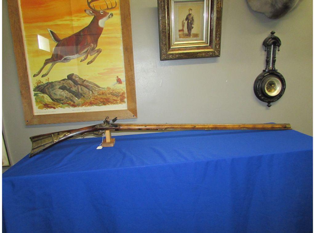 Signed Christian Siple Kentucky Rifle